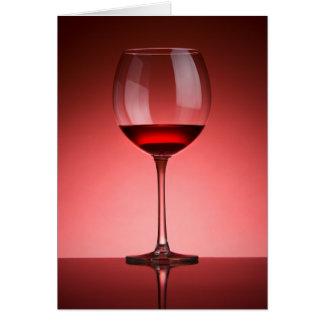 Vin Hälsningskort