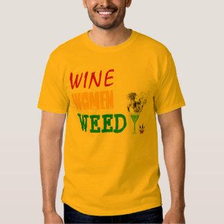 Vin kvinnor, ogräs tee
