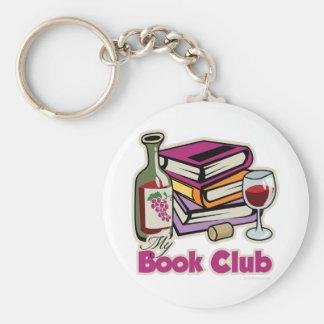 Vin: Min bokklubb Rund Nyckelring
