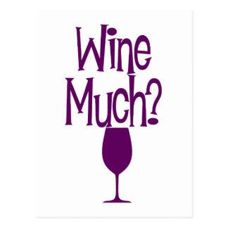 vin mycket? vykort
