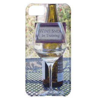 Vin och mer iPhone 5C fodral