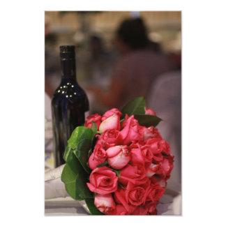 Vin och ro fototryck