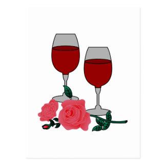 Vin & ro vykort