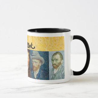 Vincent Van Gogh ansikten Mugg