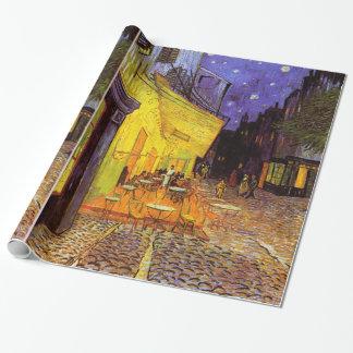 Vincent Van Gogh Cafeterrass på nattkonst Presentpapper