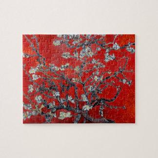 Vincent Van Gogh grenar med mandelblommar Pussel