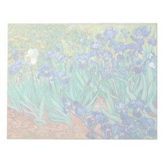 VINCENT VAN GOGH - Irises 1889 Anteckningsblock