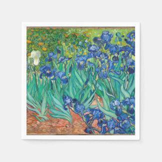 VINCENT VAN GOGH - Irises 1889 Pappersservetter