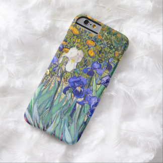 Vincent Van Gogh Irises blom- vintagekonst Barely There iPhone 6 Fodral