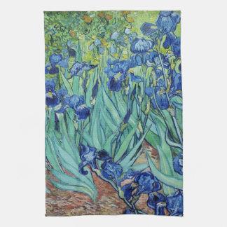 Vincent Van Gogh Irises Kökshandduk