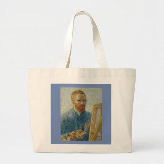 Vincent Van Gogh - konstnärsjälvporträtttoto Jumbo Tygkasse