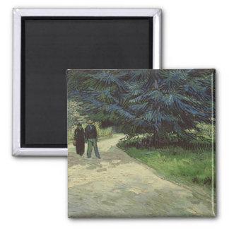 Vincent Van Gogh | kopplar ihop i parkera, Arles, Magnet