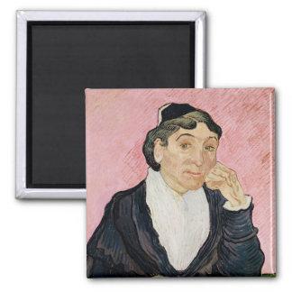 Vincent Van Gogh | kvinnan från Arles Magnet