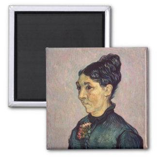 Vincent Van Gogh   madam Jeanne Lafuye Trabuc Magnet