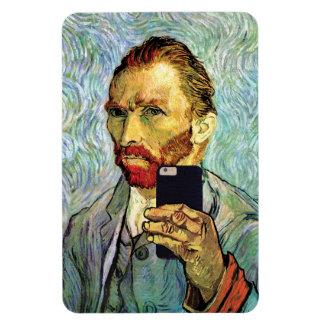 Vincent Van Gogh mobiltelefonSelfie självporträtt Magnet