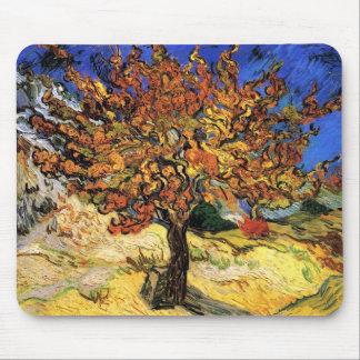 Vincent Van Gogh - mullbärsträdträdkonsten Mus Matta