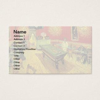 Vincent Van Gogh - nattCafekonsten Visitkort