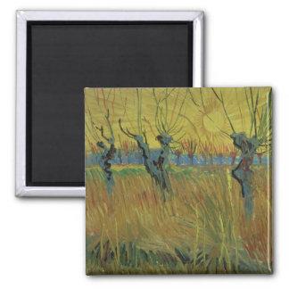 Vincent Van Gogh   Pollarded pilar, Magnet