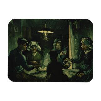 Vincent Van Gogh - potatiseatersna Magnet