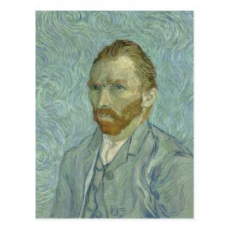 Vincent Van Gogh självporträtt 1889 Vykort