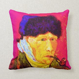 Vincent Van Gogh - självporträtt förbinder Kudde