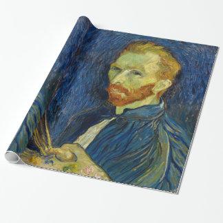 Vincent Van Gogh självporträtt med paletten Presentpapper