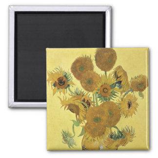 Vincent Van Gogh | solrosor, 1888 Magnet