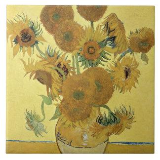 Vincent Van Gogh | solrosor, 1888 Stor Kakelplatta