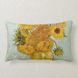 Vincent Van Gogh solrosor Lumbarkudde