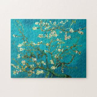 Vincent Van Gogh som blomstrar konst för Pussel