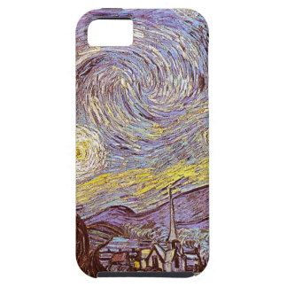 Vincent Van Gogh Starry natt iPhone 5 Fodraler