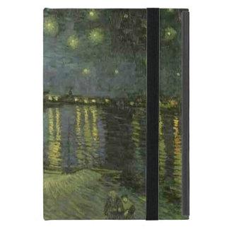 Vincent Van Gogh Starry natt över Rhonen iPad Mini Skal