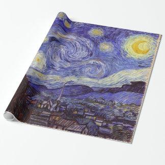 Vincent Van Gogh Starry natt Presentpapper