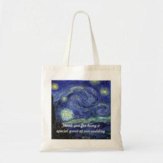 Vincent Van Gogh Starry natt Tygkasse