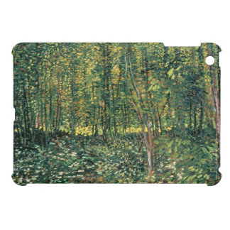 Vincent Van Gogh | träd och undervegetation, 1887 iPad Mini Fodral
