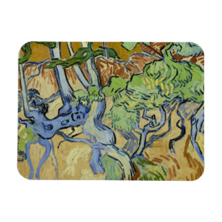 Vincent Van Gogh - Träd-rotar Magnet