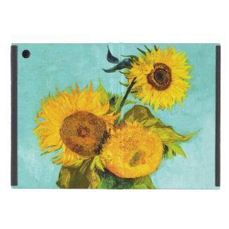 Vincent Van Gogh tre solrosor i en vas iPad Mini Skydd