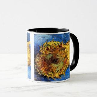 Vincent Van Gogh - två klippta solrosor - konst