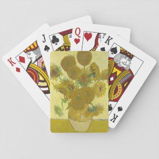 Vincent Van Gogh - vas med fjortonsolrosor Casinokort