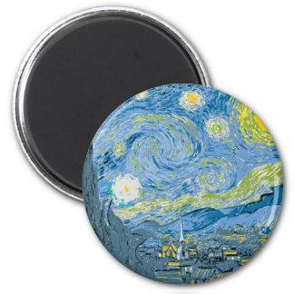 Vincent Van Gogh vektorkonst Magnet
