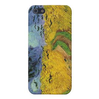 Vincent Van Gogh vetefält som hotar himmlar iPhone 5 Cases
