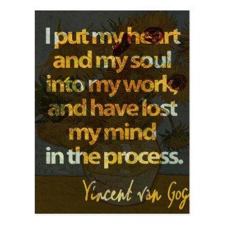 Vincent Van Gogh Vykort