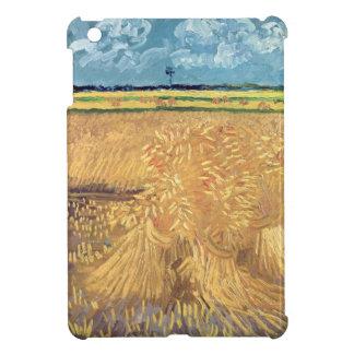 Vincent Van Gogh | Wheatfield med kärvar, 1888 iPad Mini Skydd