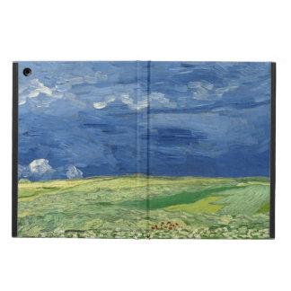 Vincent Van Gogh - Wheatfield under thunderclouds iPad Air Skal