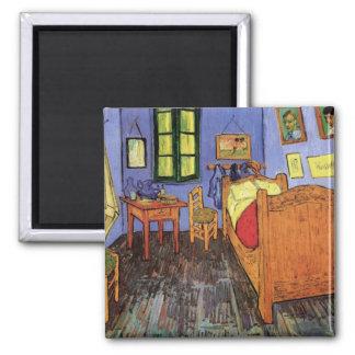 Vincents sovrum i Arles av Vincent Van Gogh Magnet