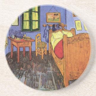 Vincents sovrum i Arles av Vincent Van Gogh Underlägg