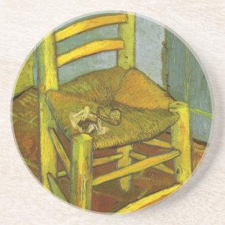 Vincents stol med hans leda i rör vid Van Gogh Underlägg