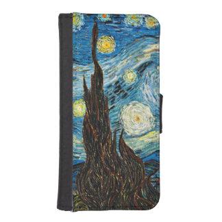 Vincents Van Gogh Starry natt iPhone SE/5/5s Plånbok