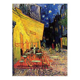 """Vincents Van Gogh vykort """"för Cafeterrass"""""""