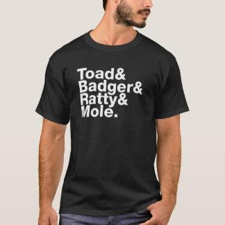 Vind i pilskjortan t-shirt